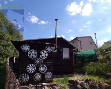 REZERVOVANÉ BV REAL Na predaj záhradná chata so záhradou 391 m2 Handlová FM1144