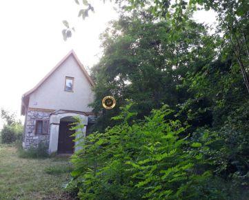 Murovaná chata s pozemkom 2100 m2 -Branč
