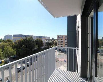 PREDAJ - SKOLAUDOVANÝ 2i byt s loggiou v projekte NUPPU, BA II, 52,27 m2