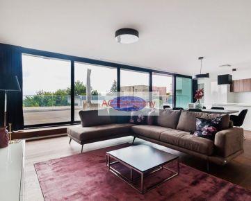 BA Na Štyridsiatku - luxusný 7-izbový byt/mezonet 387,51 m2 (4x terasa).