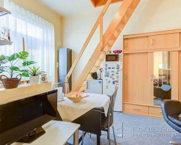 360° VIRTUÁLNA PREHLIADKA:: 2-izbový mezonetový byt, BA I. Staré Mesto, Radlinského ul.