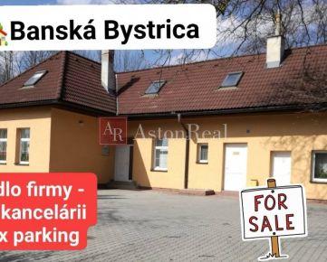 Predaj: DOM - sídlo firmy, pozemok 650 m2, Banská Bystrica