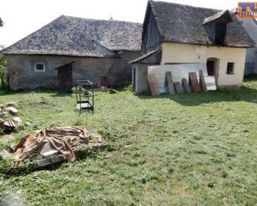 Na predaj rodinný dom v obci Dobrá Niva, vhodný na chalupu, 1072m2. CENA: 47 000,00 EUR