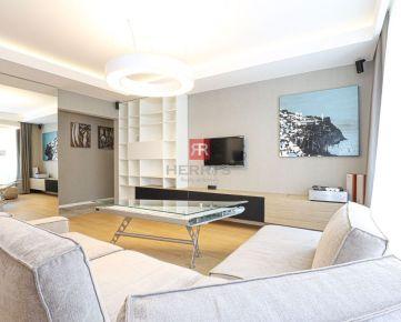HERRYS, Prenájom moderného 4 izbového bytu s terasou a dvoma garážovými státiami v rezidencii Machnáč v Starom meste