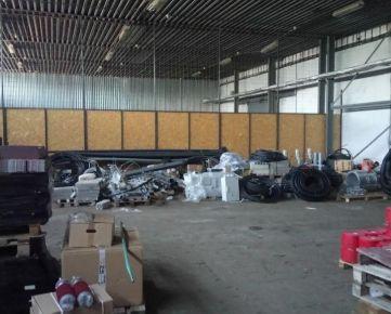 Na prenájom skladový/výrobný objekt, Košice IV