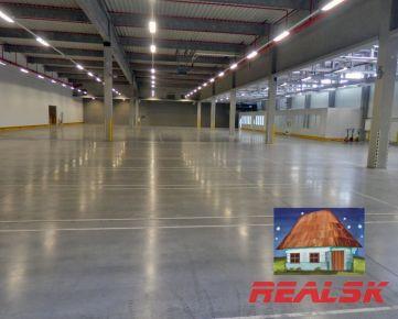 Výrobné priestory v Nitre na prenájom, 2x 2500m2