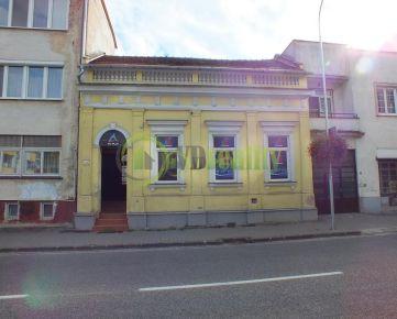 JEDINEČNÁ PONUKA! Na predaj budova v centre mesta Nitra