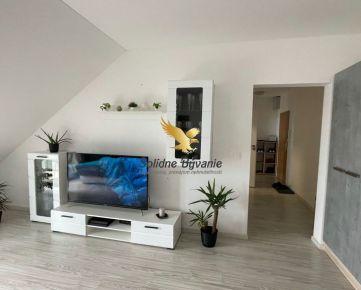 Exkluzívne!!! Krásny 2-izbový podkrovný byt na ulici Medená na prenájom
