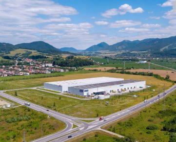 Prenájom skladových priestorov 11415 m2, Žilina