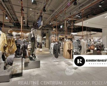 Prenájom obchodných priestorov 168 m2, Bulvár Žilina