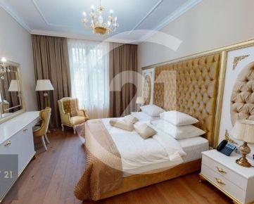 Home office a prenájom izieb v hoteli v centre starého mesta Košice