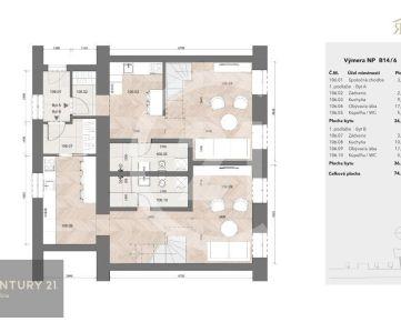 Investičný byt v Rezidencii Baštová 83m2