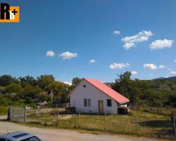 Na predaj chata Krivosúd-Bodovka - ihneď k dispozícii