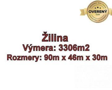 ŽILINA -Solinky, komerčný pozemok 3306 m2