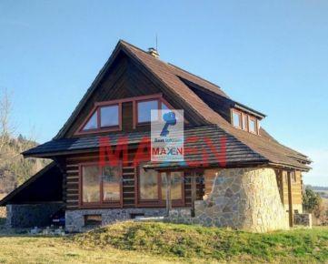 Predaj: *MAXEN*,  Drevenica  - rekreačný objekt, 3 podlažia, 255 m2, Slovenská Ves, okr. Kežmarok