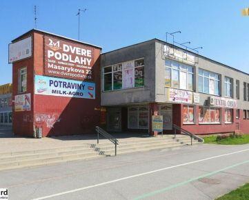 Dvojpodlažná budova obchodu a služieb OPAL, 892 m2, Zemplínska, Prešov
