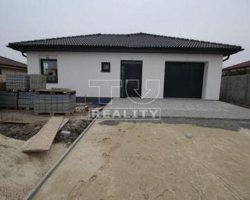Rodinný dom v stave Štandard, novostavba, 127 m2, Veľké Úľany, okr. Galanta. CENA: 174 990,00 EUR