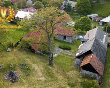Predaj Gazdovského domu s veľkým slnečným pozemkom v obci Počúvadlo