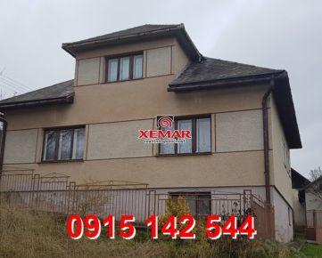 Na predaj rodinný dom v Hriňovej- EXKLUZÍVNE !!!