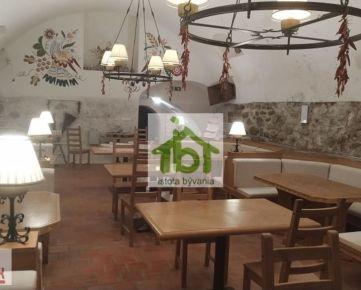 Kompletne zariadená reštaurácia - MICHALSKÁ, BA I, pešia zóna, Bratislava