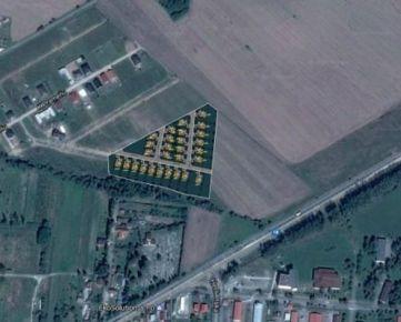Novostavba, IBV 29 domov, Prešov - Nižná Šebastová. CENA: 160 000,00 EUR
