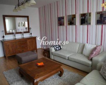 PRENÁJOM  3 izbový luxusný, zariadený byt v Nitre