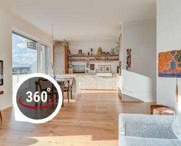 AXIS REAL:: 4-izbový byt, NOVOSTAVBA, TERASA, VÝHĽAD, BA I.Staré Mesto