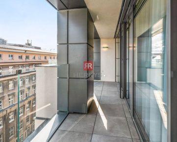 HERRYS - Na predaj krásny svetlý 3 izbový byt s dvoma lodžiami zariadený na kľuč v novostavbe v centre mesta