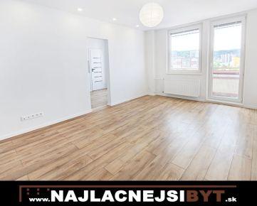 Atraktívny, zrekonštruovaný 3i byt s krásnym výhľadom na Valachovej ul. v Dúbravke