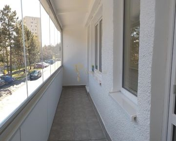 1-izb. byt, Novohorská, Rača, lodžia, po rekonštrukcii