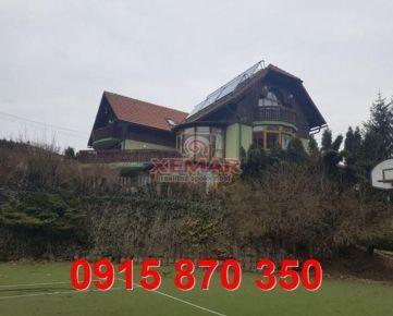Na predaj nadštandardný 3 podlažný rodinný dom cca 15 km od mesta Banská Bystrica