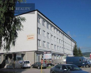 Prenájom kancelárií od 11 m2, Brnianska ul., Trenčín / Zámostie