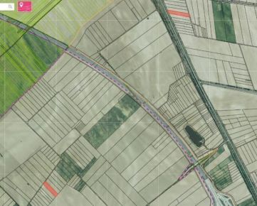 Predaj ornej pôdy, katastrálne územie Čunovo, 8 606m2.
