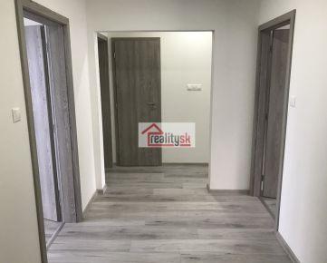 Predáme kompletne zrekonštruovaný 3-izbový byt na Murániho ulici 16 v Nitre