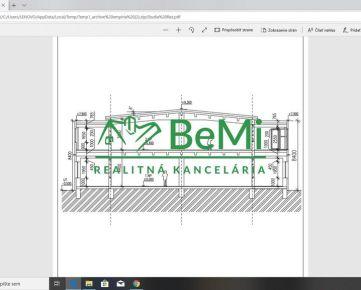 Na prenájom nová budova 800 + 800 m2 + administratívna časť Banská Bystrica - Zvolenská cesta (ID-359-27-ZUS)