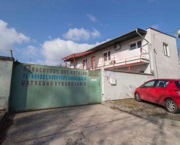NA PREDAJ sklad s administratívou v Lamači v blízkosti diaľnice