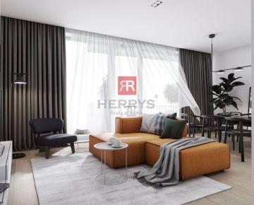 HERRYS - Na predaj 3 izbový byt s predzáhradkou v projekte Byty Bystrická 2
