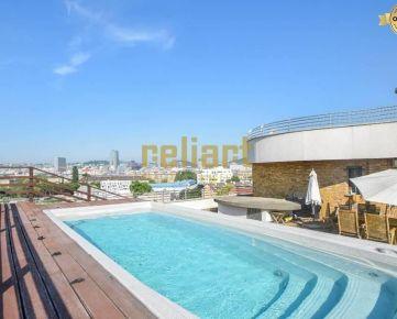 Reliart»Gaudí: Prenájom lux. 4i bytu s bazénom/eng. text inside
