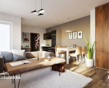 NA PREDAJ | 1 izbový byt 38m2 + balkón, 2np. Rezidencia Kožušnícka, byt B8