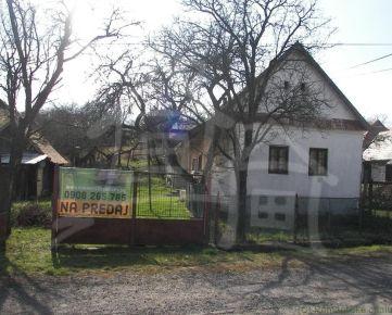 ZNIŽENÁ CENA!!Dom vhodný na chalupu v príjemnom prostredí Polichna