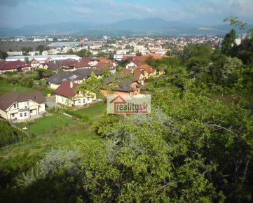 Predám pozemok v Trenčíne. (JUH). Vhodný na developerský projekt.