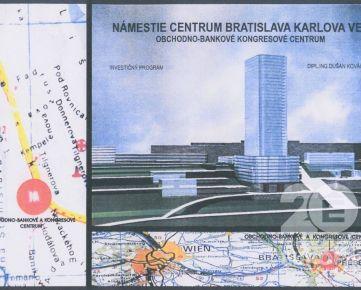 Exkluzívny pozemok 4 706 m2 a výborná lokalita Karlova Ves - predaj