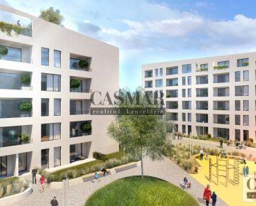 RK CASMAR ponúka na predaj 1izb. byt B102 v projekte Prúdy