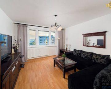 NA PREDAJ príjemný 2 izbový byt na Romanovej ulici