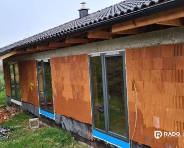Na predaj 4 – izbový rodinný dom, novostavba – Ivanovce