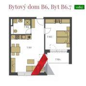 2-izb. byt 49m2, novostavba