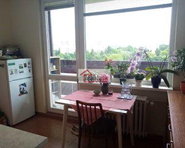 Slnečný 1-izbový byt v blízkosti centra s krásnym výhľadom