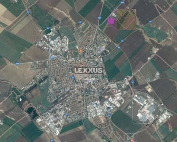 LEXXUS-PREDAJ, ideálny pozemok - zastavané plochy, v kat. územi Trnava