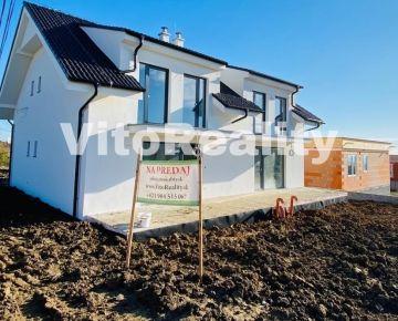 Lukratívny 5-izbový rodinný dom novostavba v Štitároch
