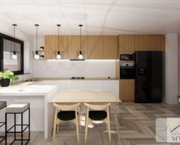 Krásna novostavba 4-izbového rodinného domu v obci Cífer pozemok 550 m2